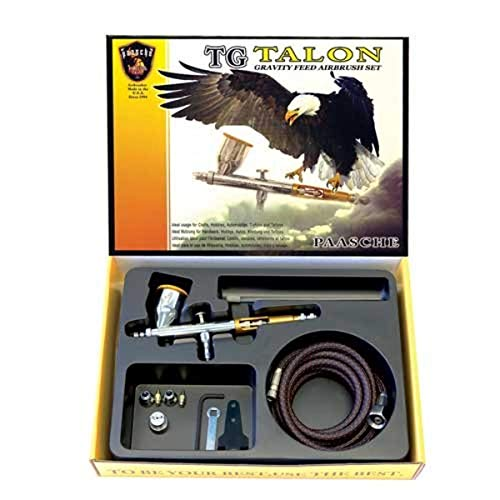 Paasche Airbrush TG-3F Double Action Schwerkraft-Feed Airbrush