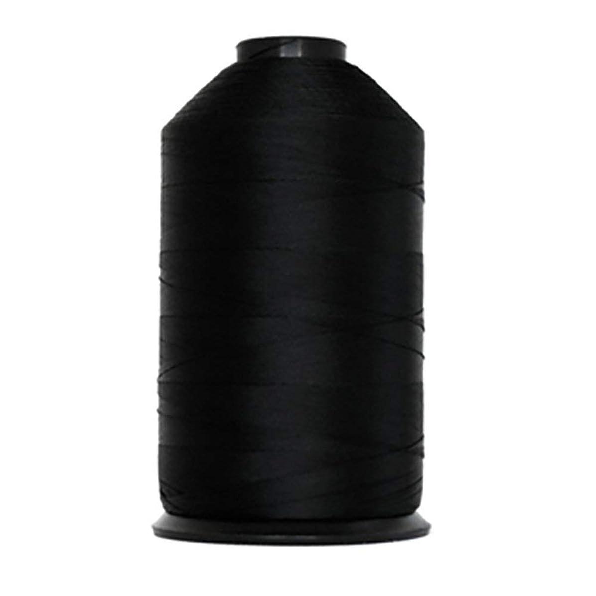 Anefil Bonded Polyester Sewing Thread #138 Tex-135 16 oz. 2,800 Yard (Black)