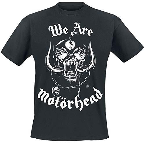 Motörhead We Are Männer T-Shirt schwarz M 100% Baumwolle Band-Merch, Bands