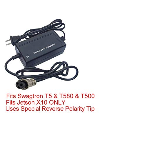 PPA Charger for HVR Board Only Has Auto shutoff Swagtron T500