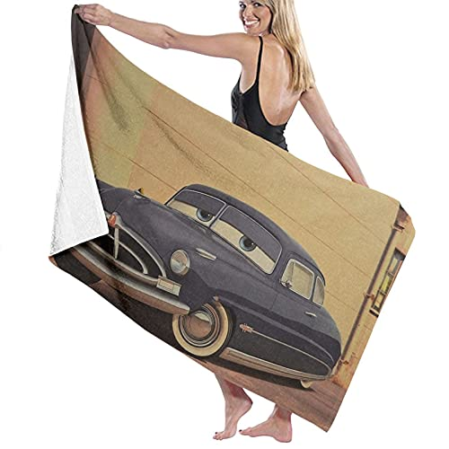 Doc Hudson Paul Newman Doctor Hudson Hornet Toallas de playa Ultra Absorbentes Toalla de baño de microfibra Picnic Mat para hombres mujeres niños