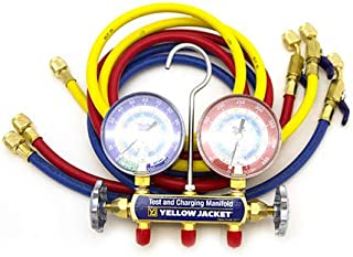 Ritchie Yellowjacket 42205 Series 41 Charging Manifold and Hoses