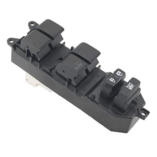 KUANGQIANWEI Botonera elevalunas Ventana de energía del Coche de Control Maestro Interruptor 84.820-12.500 for los Toyota Corolla Auris Yaris (Color Name : Black)