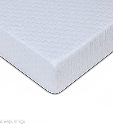 "sleepkings 3ft Single Mattress – 4"" Economy Bed Mattress – Budget Reflex Foam"