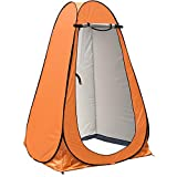 anngrowy Pop Up Privacy Tent Shower Tent Portable Outdoor Camping Bathroom Toilet Tent Changing Dressing Room Privacy Shelters Room for Hiking and Beach Sun Shelter Picnic Fishing– UPF40+ Waterproof