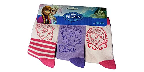 Disney Frozen ELSA Socken 3er Pack (31-34)
