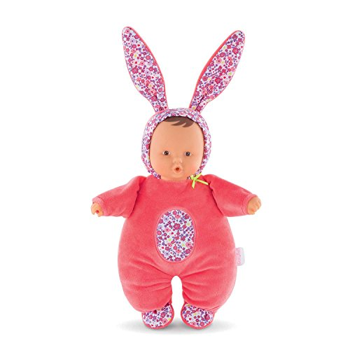 Corolle Mon Doudou Babibunny 2-in-1 Musical Baby Doll & Nightlight, Floral Bloom