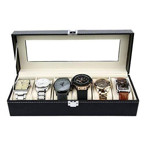 CCAN Cajas de Reloj del Organizador de la Caja de Reloj de Las Mujeres para los Hombres Diseño Grande del Organizador Interesting Life