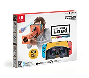 Nintendo Labo Toy-Con 04  VR Kit - Starter Set + Blaster - Switch
