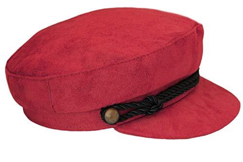 Clásico Mariner/Breton Taps, gorra trenzada, gorra de pescador griego, gorra violinista, gorra de marinero, estilo John Lennon