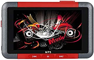Redcolourful MP5 Player 3.5 Inch Slim LCD Screen Music Video Player Recorder E-Book Reader FM Radio Practical