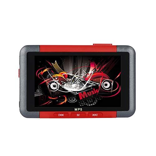 XuBa MP5 Reproductor de 3,5 Pulgadas, Pantalla LCD Delgada, Reproductor de música, Reproductor de vídeo, Lector de Libros electrónicos, Radio FM Red 8GB