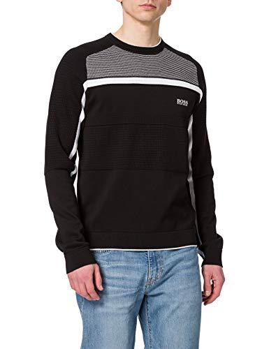 BOSS Remi 10233034 01 Sweater, Noir 1, M Homme