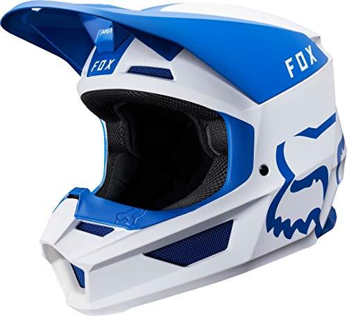 2019Fox pour homme V1Mata MX casque Bleu/blanc, Voiture & moto, 21862-025-2X, bleu/blanc, 2X