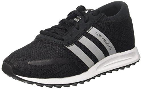 adidas Unisex-Erwachsene Los Angeles Sneakers, Schwarz Core Black Footwear White Core Black, 40 2/3 EU