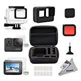 Deyard 25 in 1 kit di accessori per GoPro Hero 7(Solo nero) Hero (2018) GoPro Hero 6 Hero ...