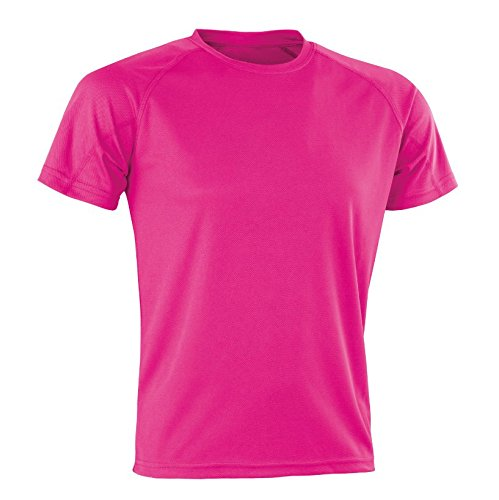 Spiro T-Shirt Performance Aircool pour Homme XXS Rose