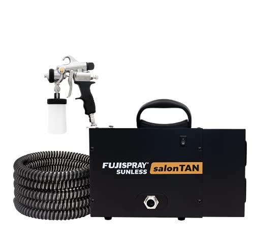 Fuji 2150 salonTAN PLATINUM Ultra Quiet Tanning Machine with TAN7350 Spray Gun