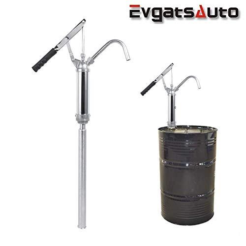 Hebel-Ölfass-Pumpe, Pumpe für ölfass Ölfaßpumpe mit Hebel, Fasspumpe Hebel Handpumpe für Diesel, Kerosin, Getriebeöl, Motoröl 20 l/min