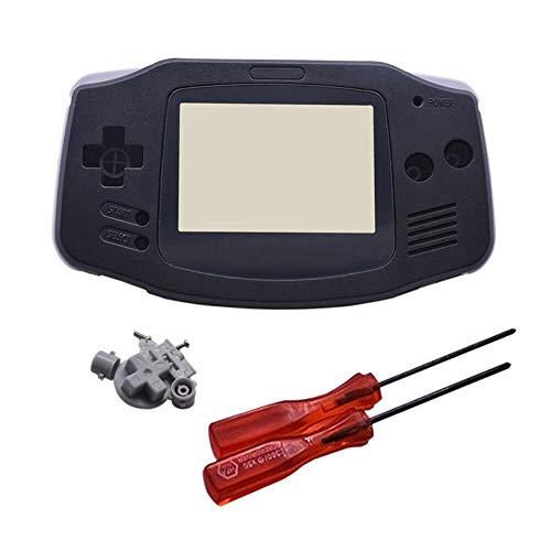 Henghx Sostituzione Pieno Alloggiamento Guscio Coperchio Caso Le Parti Set w/Lente&Cacciavite per Nintendo Gameboy Advance GBA Console