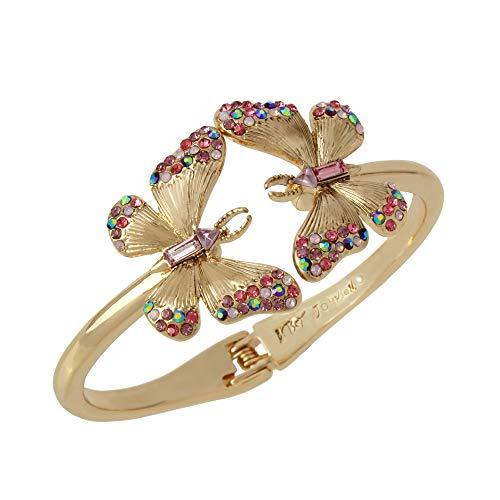 Betsey Johnson Butterfly Bangle Bracelet