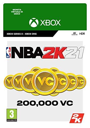 NBA 2K21: 200,000 VC | Xbox - Codice download