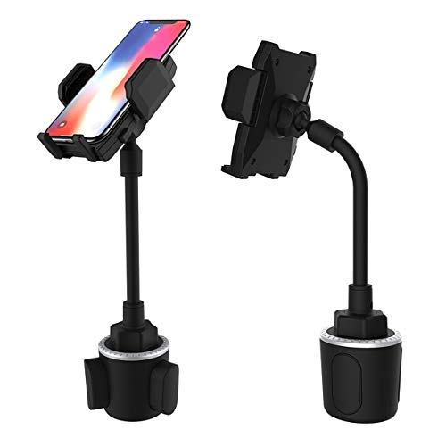 Cup Car Phone Mount,DHYSTAR Universal Cell Phone Holder Bracket Stand for Car,Golf Cart,Truck,Automobile Cups,Fits Most...
