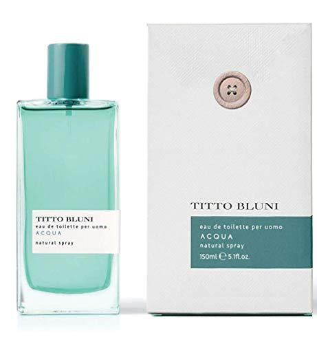 Titto Bluni Acqua Uomo Eau de Toilette Natural Spray 150ml