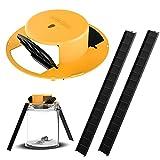 Lifellery M-Ouse Trap Bucket,Flip Slide Bucket Lid M-Ouse/Trap Door Style Indoor Outdoor Compatible 5 Gallon Bucket