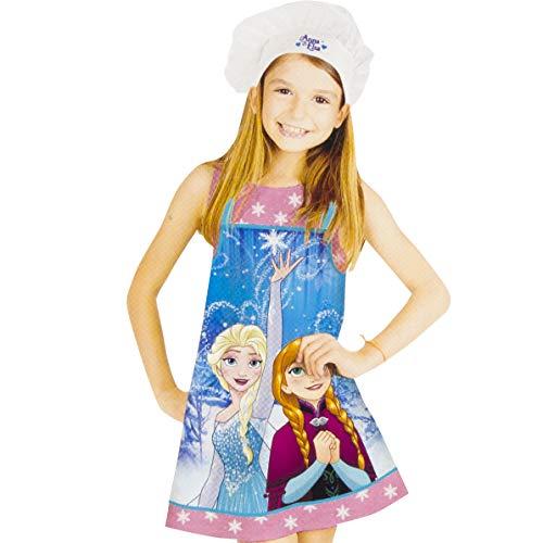 Disney Frozen La Reine des Neiges 2 pièces Chef Tablier + Set de Capot de cuisson