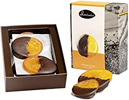 Duva Premium Gedipte Sinaasschijven, Schijven Gedipt in Belgische Pure Chocolade 200g