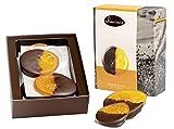 Duva Premium Discos de Naranja, Discos sumergidos en Chocolate Negro Belga 200g