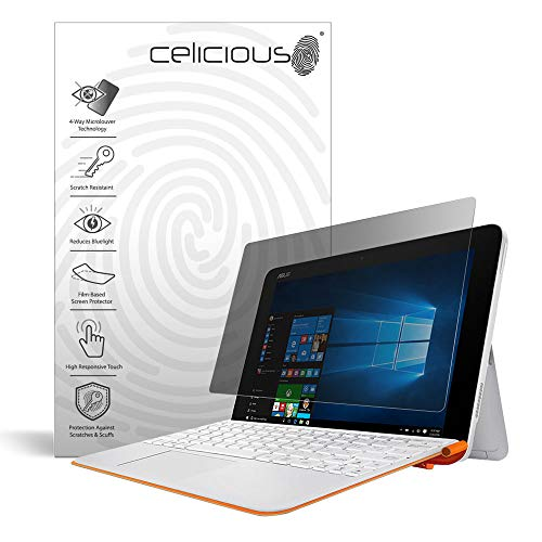 Review Celicious Privacy Plus 4-Way Anti-Spy Filter Screen Protector Film Compatible with ASUS Trans...