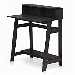 Simple stylish design yet Functional and suitable for any room. Manufactured from durable particle board to provide strong support Features attached desk hutch and firm Construction with natural industrial look. Assembly required. Please refer to ins...