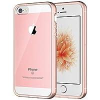 JETech Funda Compatible Apple iPhone SE 2016 (NO es compatible 2020) 5s 5, Carcasa Anti-Choques/Arañazos, Rosa