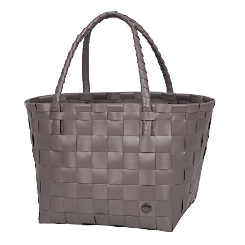 Handed By - Tasche/Shopper - Paris - Farbe: Stone Brown/Braun - 27 x 31 x 24 cm
