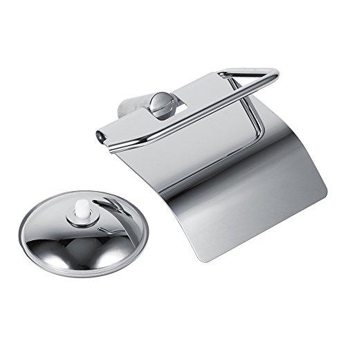 Robuster und langlebiger rostfreier Toilettenpapierhalter Edelstahl für Badezimmer Hoteltoilette Öffentliche Toilette für Badezimmer zu Hause