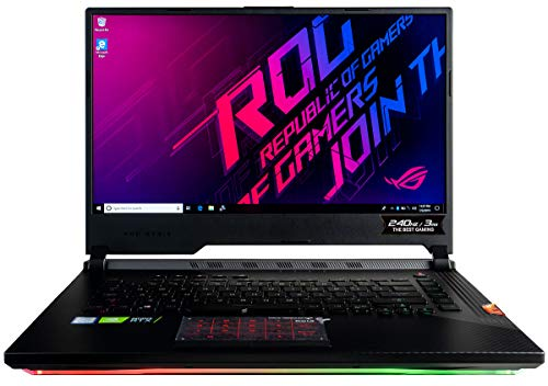 ASUS ROG Strix Scar III G531GW Gaming Laptop (Intel i7-9750H, 32GB RAM,...