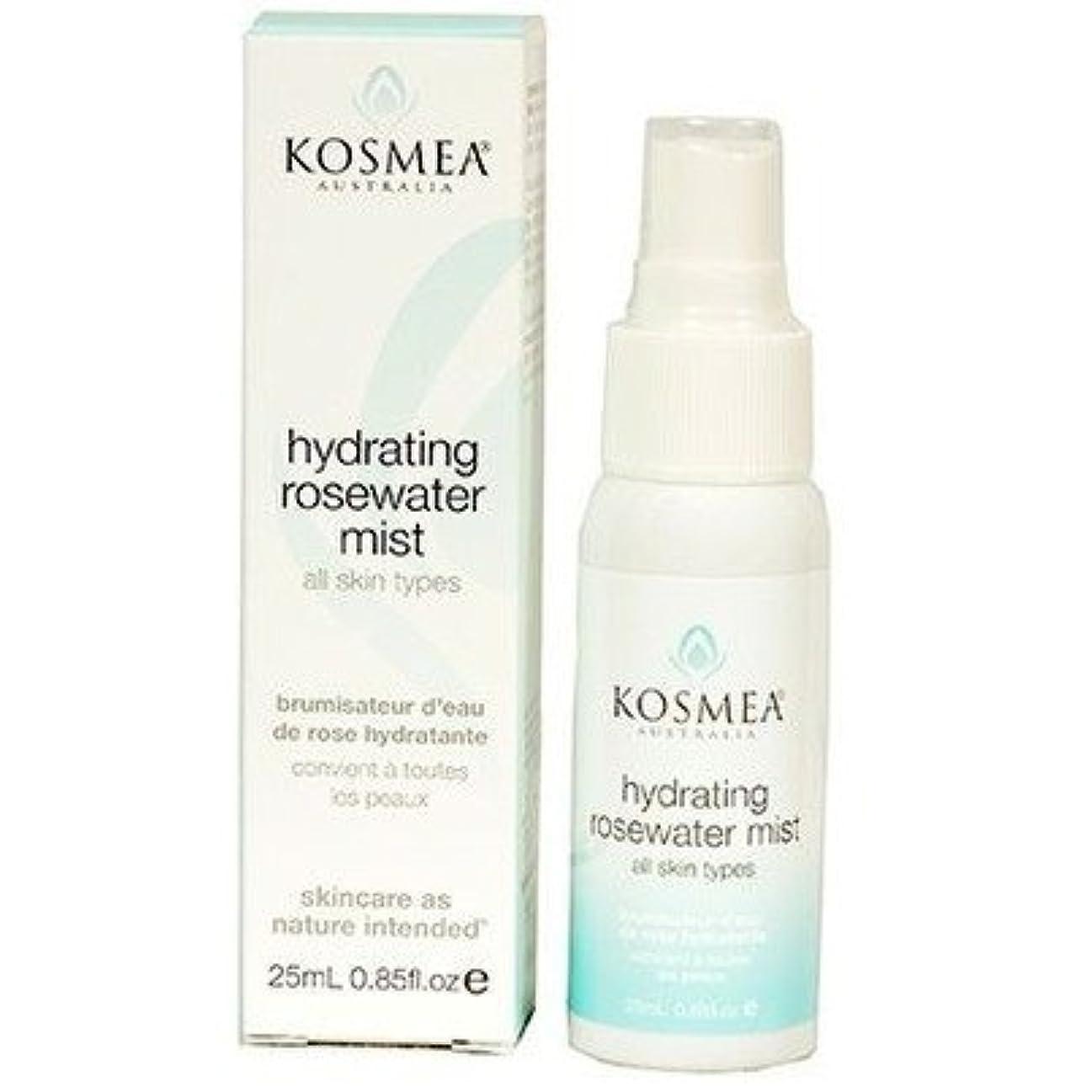 切り刻む捕虜学部[KOSMEA] Hydrating Rosewater Mist 25ml コスメア ハイドレイティング ローズウォーターミスト 25ml【並行輸入品】【海外直送品】