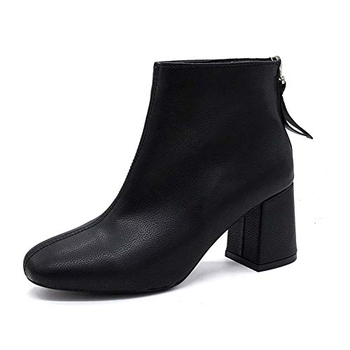 Mode Mode Laarzen Winter Nieuwe Laarzen Dames Combat Laarzen Schoenen 35 Zwart