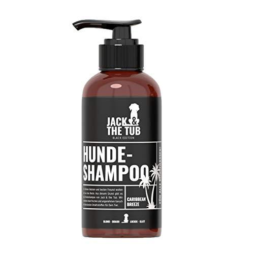 Caribbean Breeze Hundeshampoo gegen Geruch mit freshem Coco-Flavour & Conditioner-Effekt für dein` Swag | Reinigung & Pflege für healthy Haut & Fell | vegan & ohne Tierversuche I Black Edition 500ml