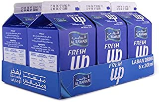 al Rawabi 6 X 200 ml Fresh Up
