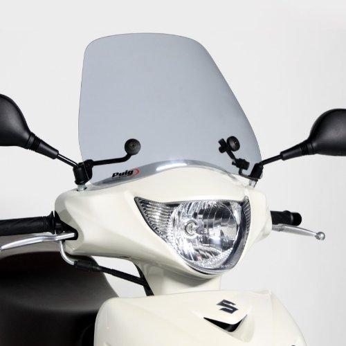 Puig 5657h Pare-Brise modèle Traffic Suzuki Sixteen 08 13 Transparent/Gris fumée