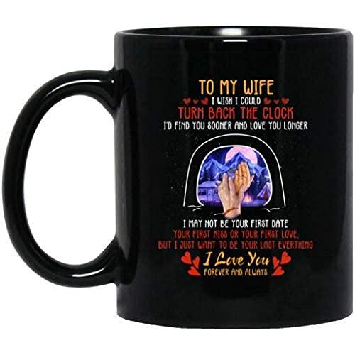 N\A A mi Esposa me gustaría Poder retroceder el Reloj Taza de café de cerámica