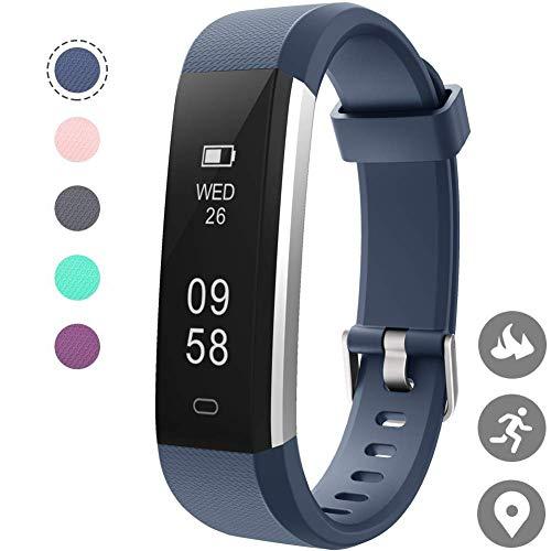 HOTSO Reloj Inteligente ID115U Smartwatches Azul