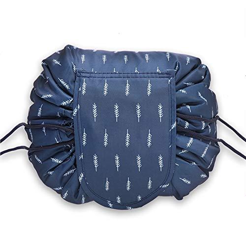 DKzyy Drawstring Makeup Bag Scrunch Sack Portable Makeup Bag Cosmetic Bags for Women Travel Cosmetic Makeup Bag Cosmetic Bag for Makeup Brushes,Blue 1