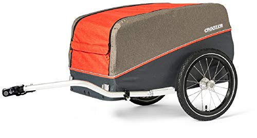 Croozer Cargo Pakko Lastenanhänger Campfire red 2020 Fahrradanhänger