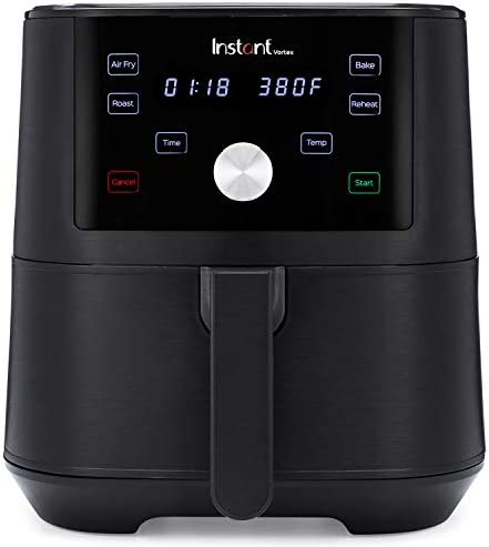 Instant Vortex Air Fryer 4 in 1 Best Fries Ever Roast Bake Reheat 6 Qt 1700W product image