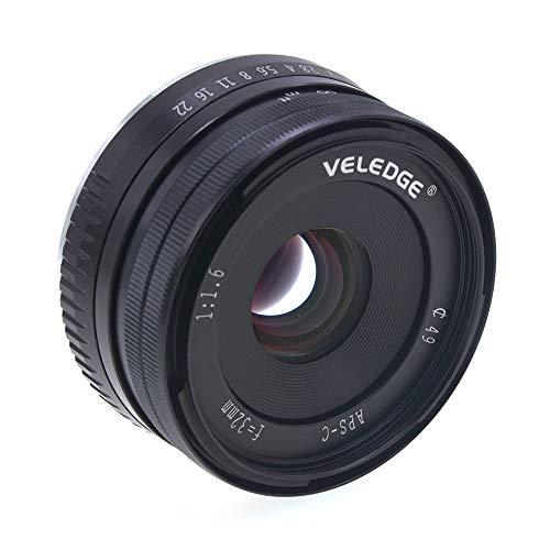 SSSabsir VELEDGE 32mm f1.6 Manual APS-C Camera Lens for Fujifilm Fuji X Mount X-T10 X-T2 X-T1 X-A3 X-A2 X-A1 X-PRO2 X-PRO1 X-E2 X-E1 X-T3