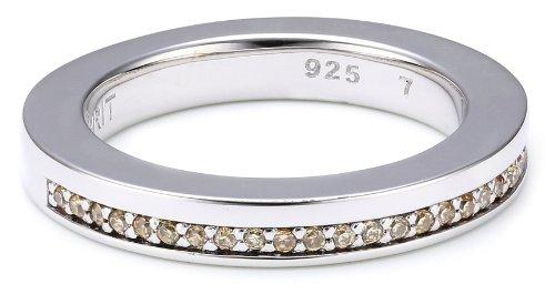 ESPRIT Jewels ESRG91793B170 - Anillo de Plata de Ley con circonita, Talla 13 (16,88 mm)